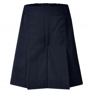 Rose Girls' Box Pleat Gaberdine Shorts