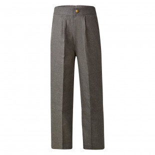 Parkes Melange Double Knee Long Pants