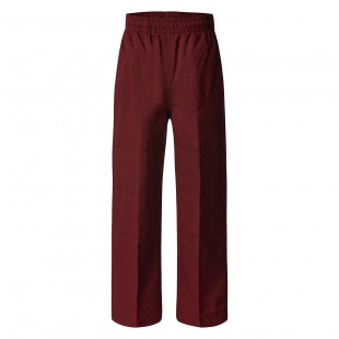 Deniehy Gaberdine Long Pants with Double Knee