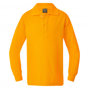 Lord Classic Plain Polo (Long Sleeve)