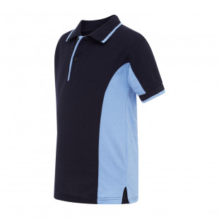 Monash Side-Panel Polo