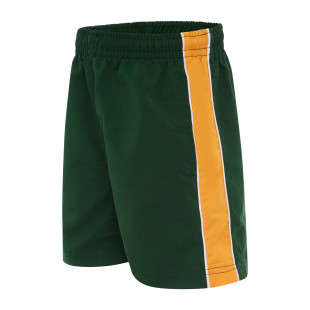 Mueller Microfibre Shorts with Contrast Panel