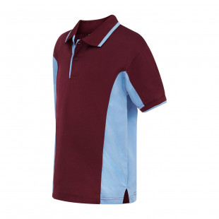 Wood Side Panel Sports Polo