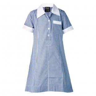 Cowan Check School Dress