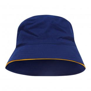Sturt Cotton Bucket Hat with Trim